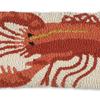 "Red Lobster Horizon Pillow 8"" X 24"""