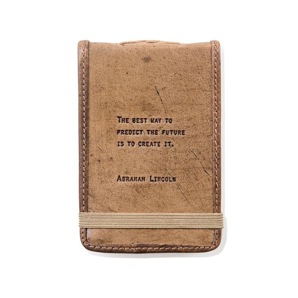 "Leather Journal -Jack London 7"" x 9.75"""
