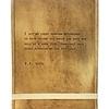 "Leather Journal - E.B. White 7"" x 9.75"""