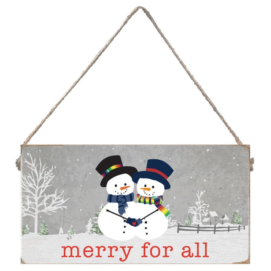 Signs of Hope - Merry for All Snowmen