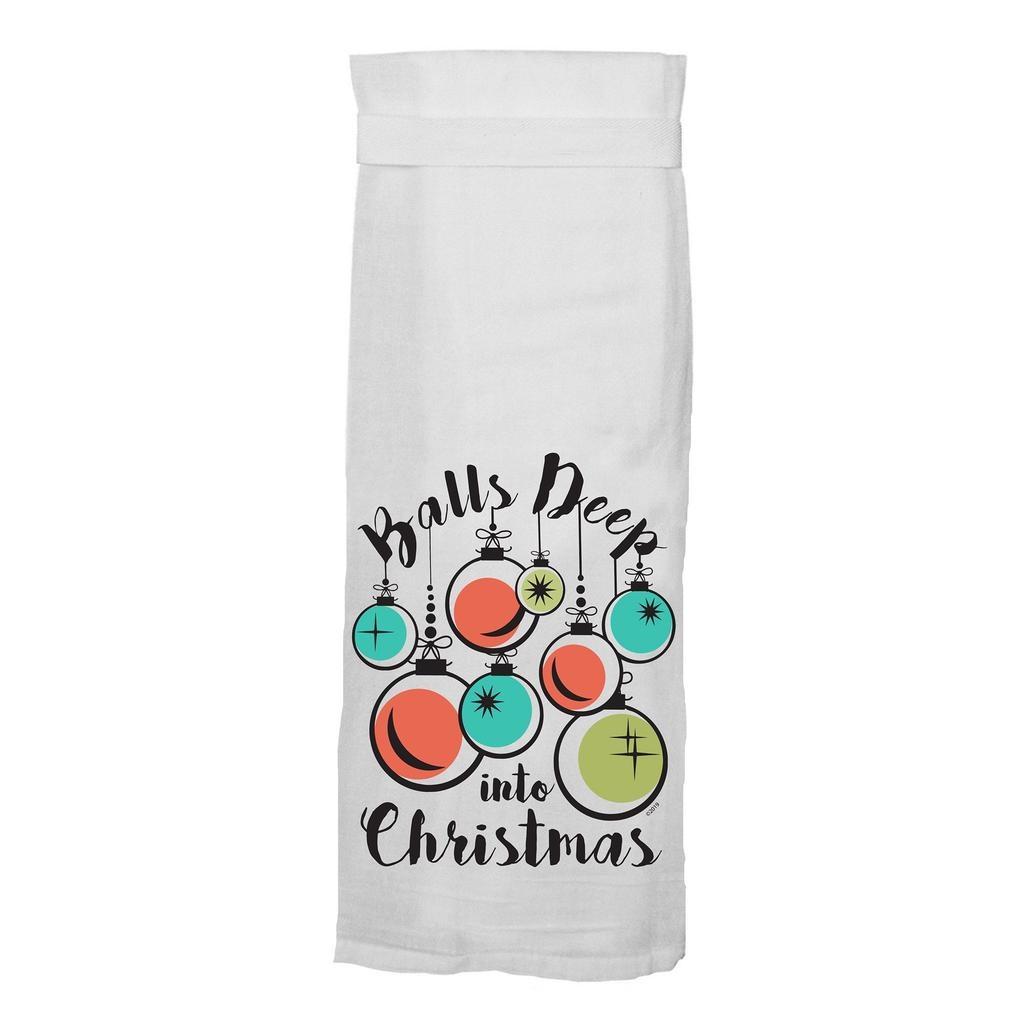 Flour Sack Kitchen Towel - Jolly As Fuck