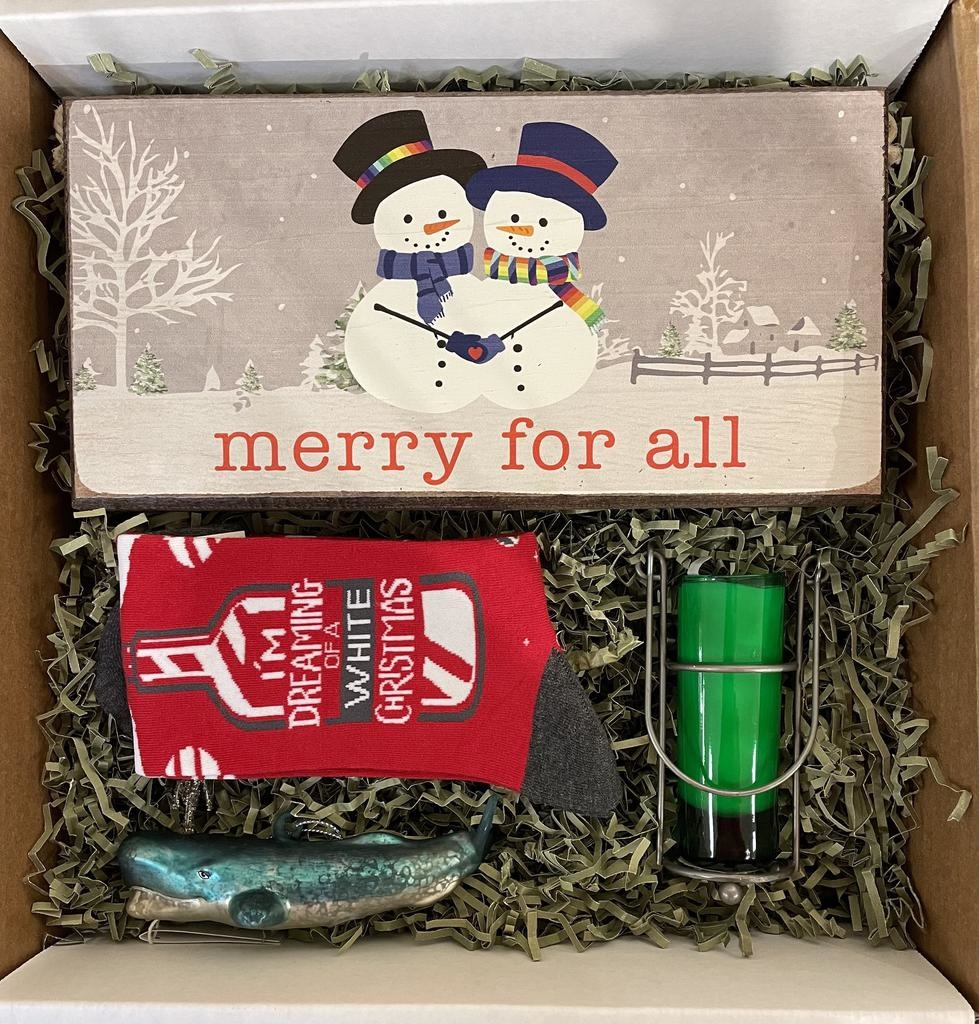 "Holiday Gift Box ""Merry Merry"""