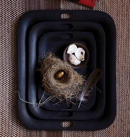 Sir/Madam Metal Nesting Tray / set of 3