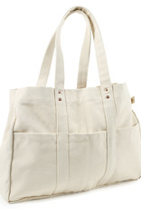 The Floral Society Canvas Utility Tote