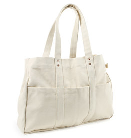 The Floral Society Canvas Utility Tote Bag