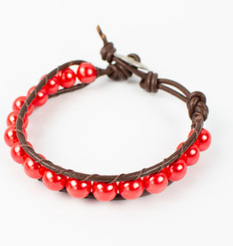 Irma Hicks Single-Wrap Bracelet
