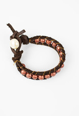 Irma Hicks Single-Wrap Bracelet