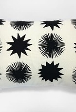 The Rise and Fall Starburst Pillow - Natural