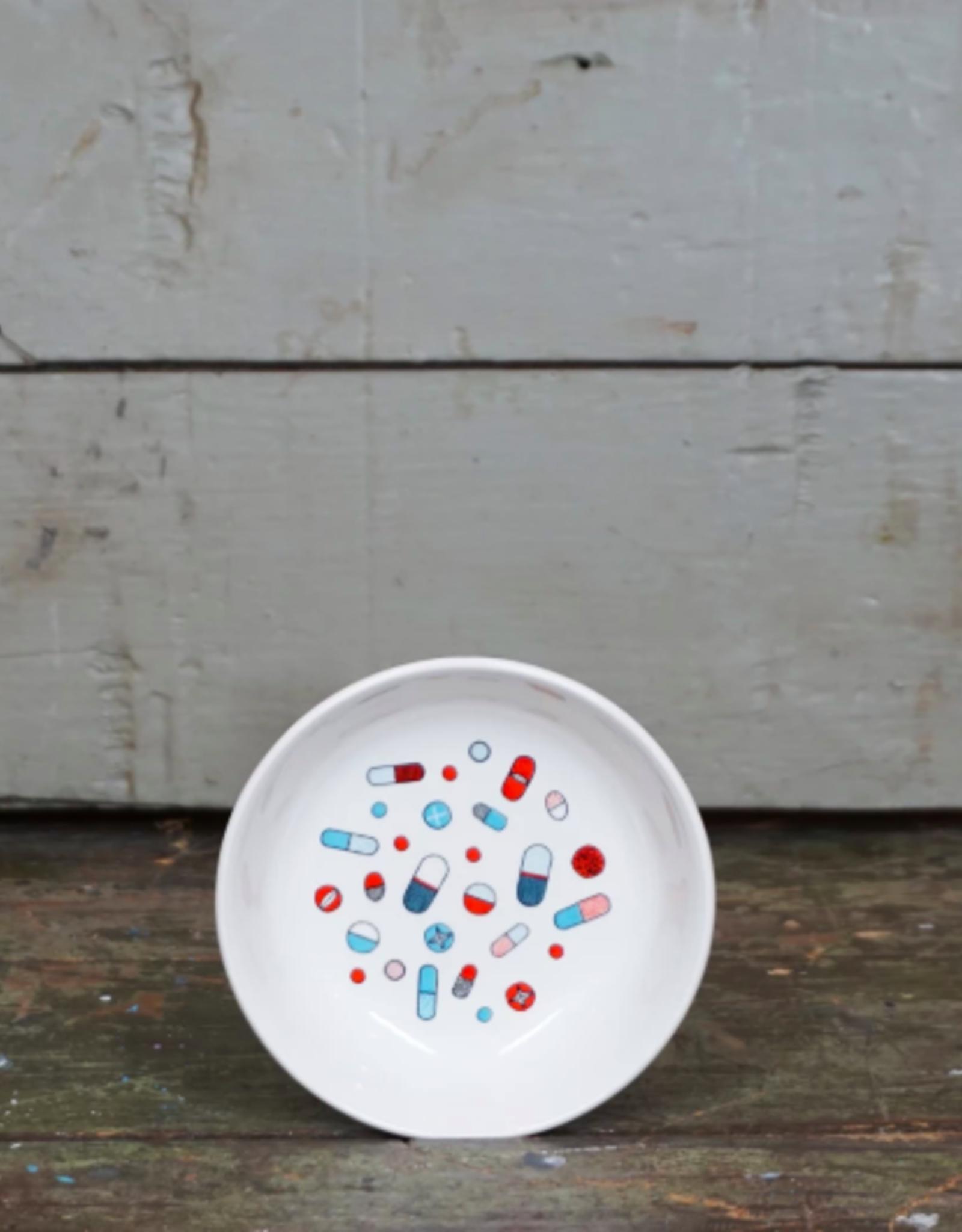 Fishs Eddy Pills Mini Dish
