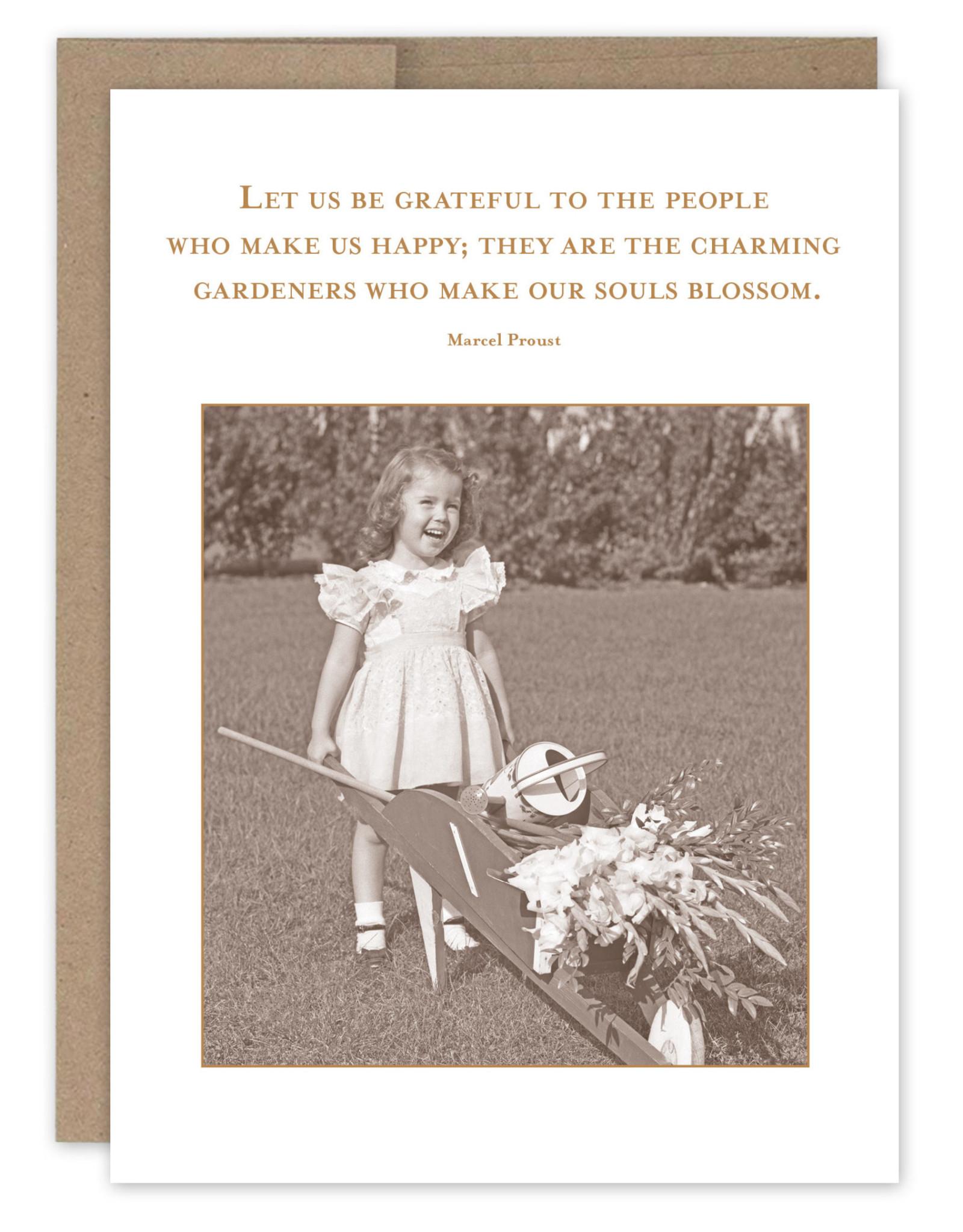 Shannon Martin Design SM684 Let Us Be Grateful Card