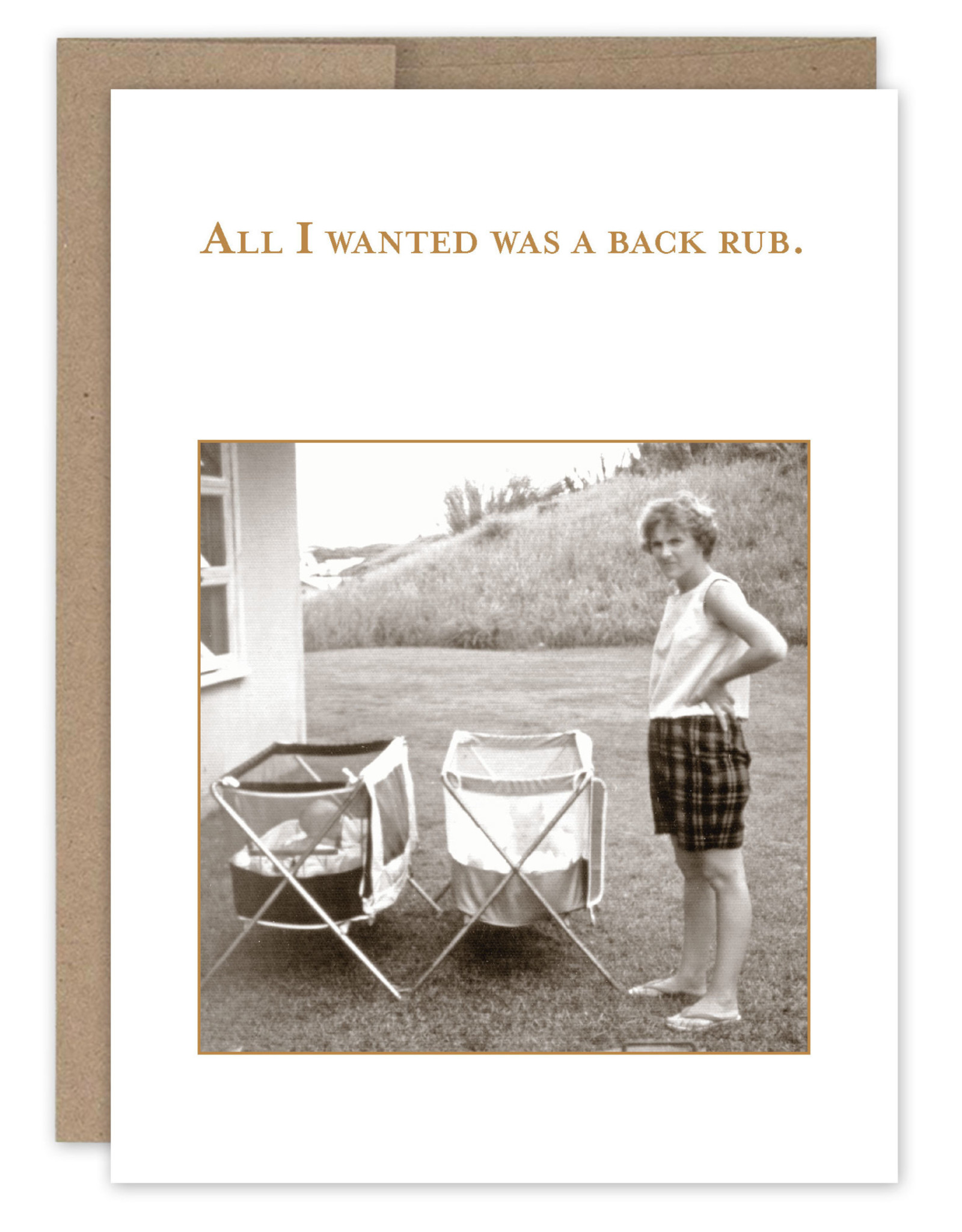 Shannon Martin Design SM483 All I Wanted Card