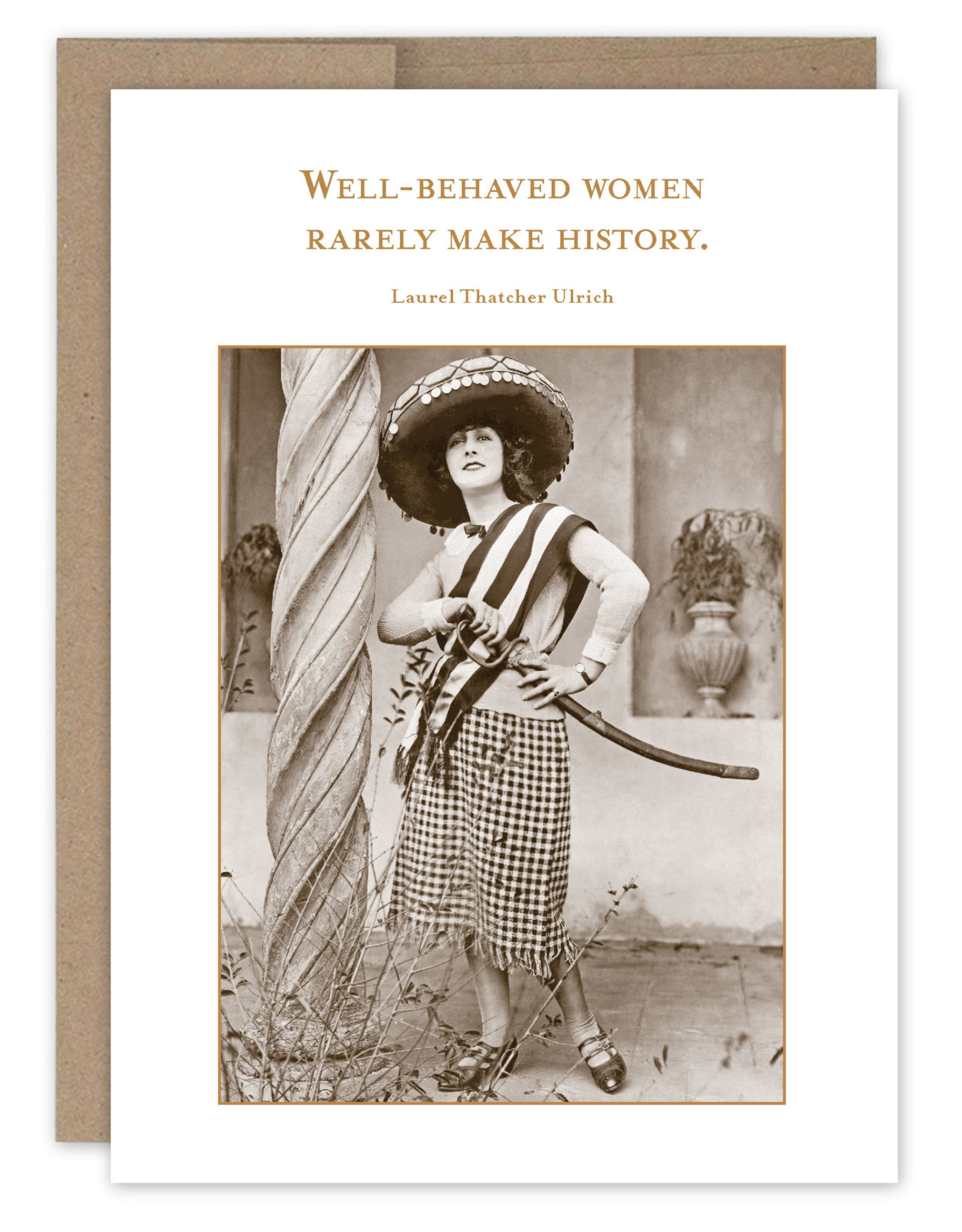 Shannon Martin Design SM679 Well-Behaved Women Card