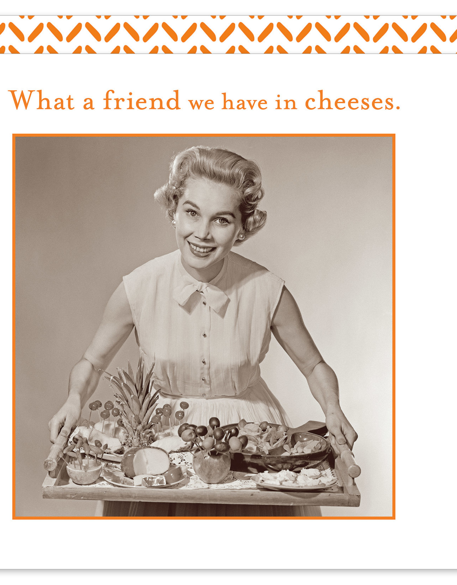Shannon Martin Design SMN58 Friend in Cheeses Napkins
