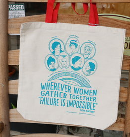 Blackbird Letterpress Inspiring Women Canvas Tote