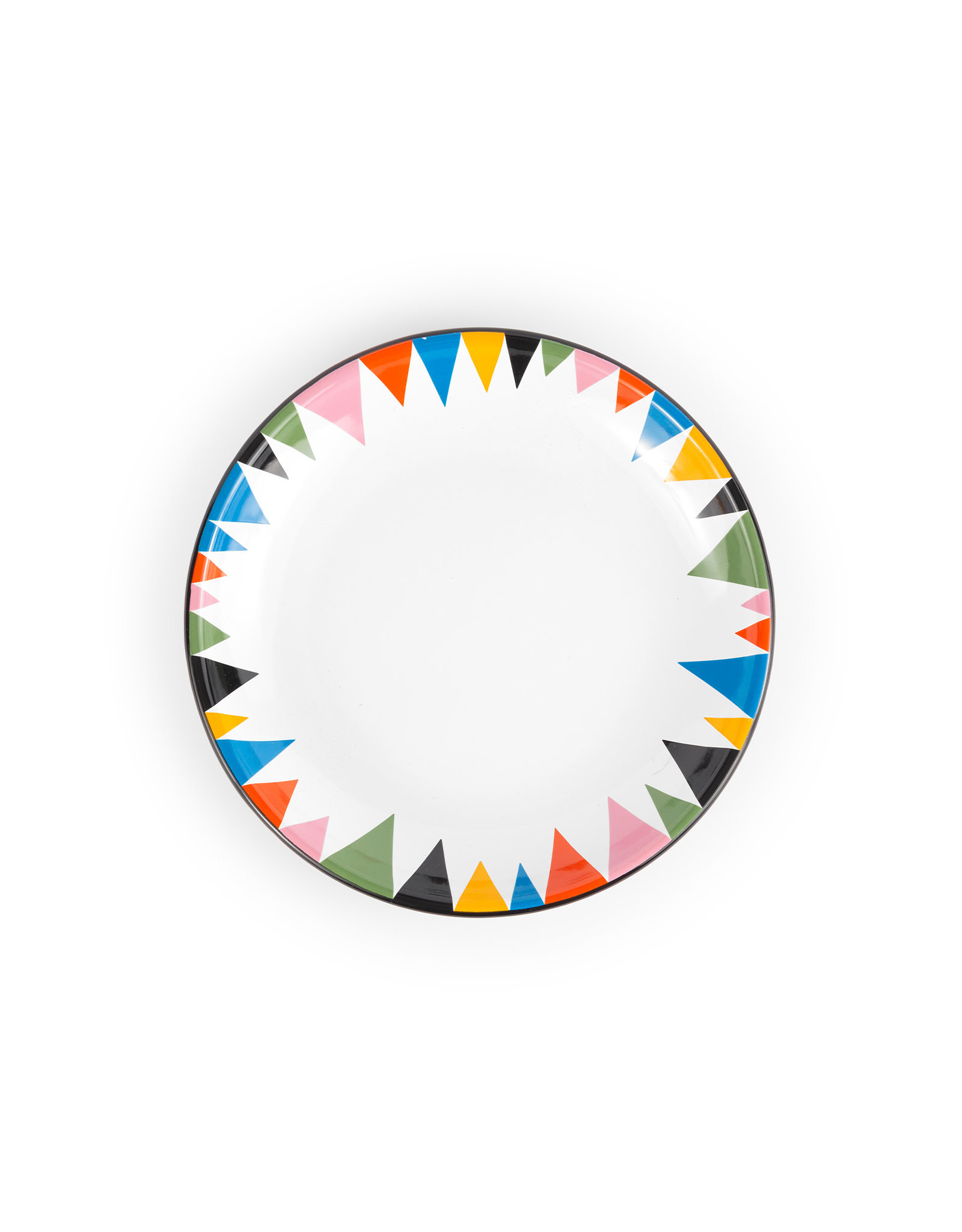 Crow Canyon SET 4 // Lisa Congdon x CCH Coupe Salad Plate