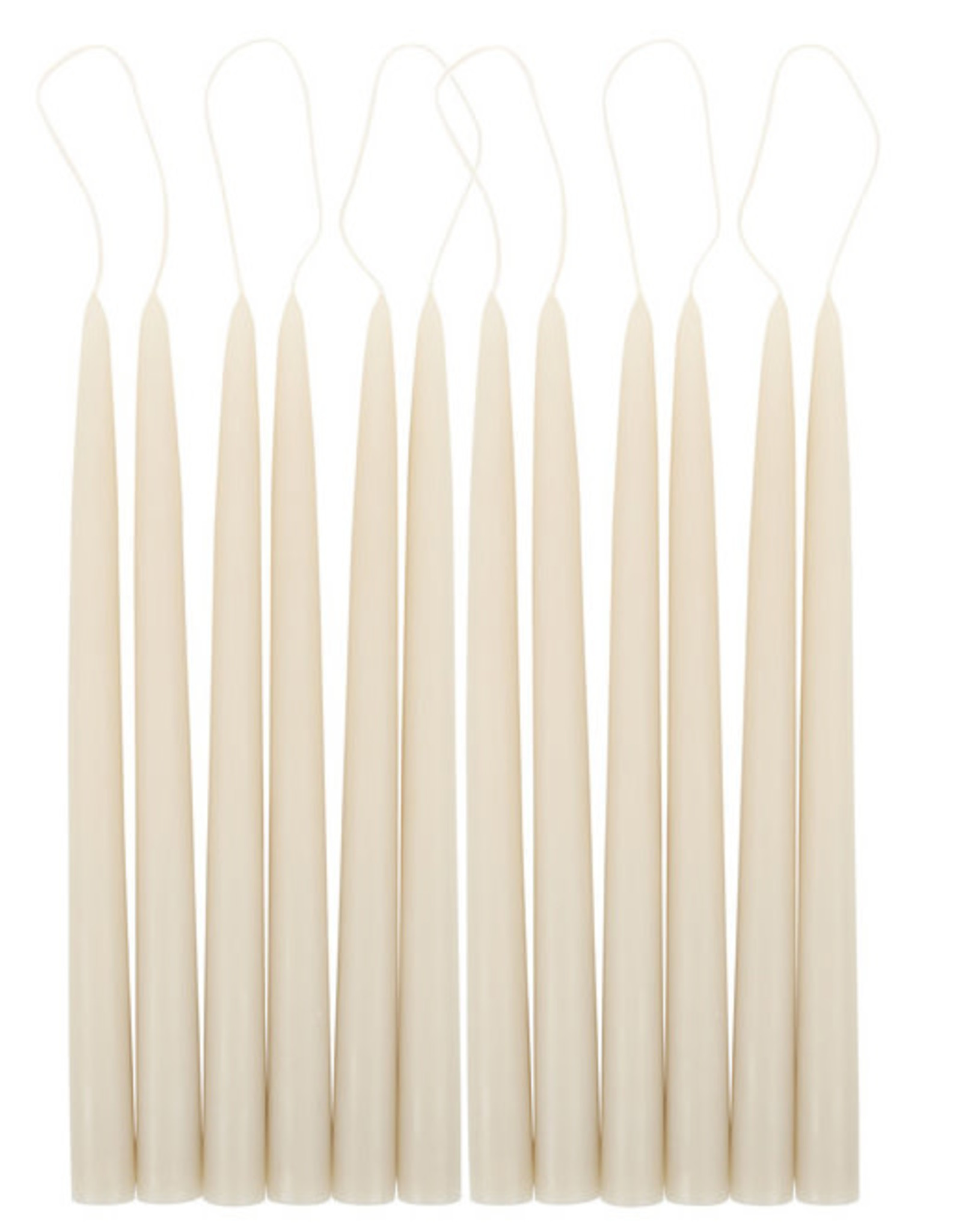 """The Floral Society Taper Candle, 12"""""""