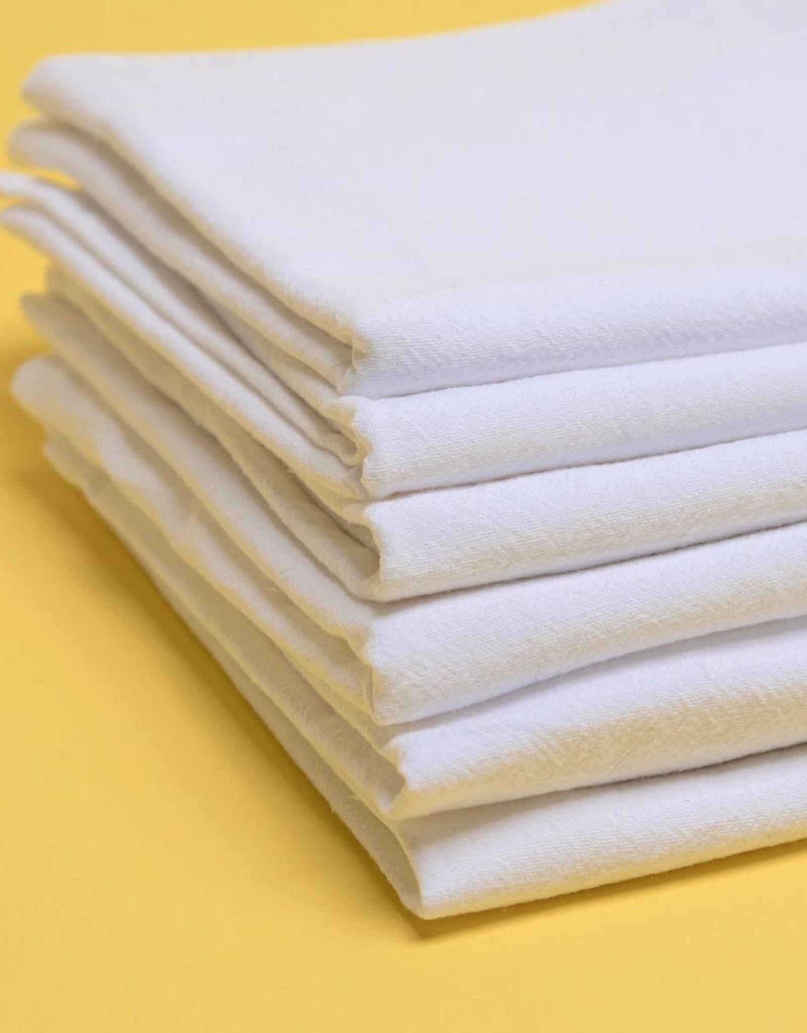 Alt Linen Set of Six Kitchen Towels - Free Lifetime Replacements