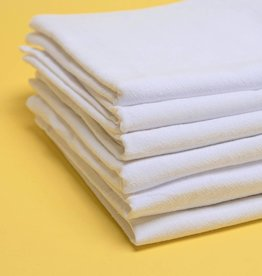 Alt Linen Set of Six Kitchen Towels - Free Lifetime Replacements