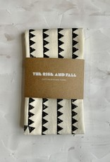 The Rise and Fall Sawtooth Towel - Natural