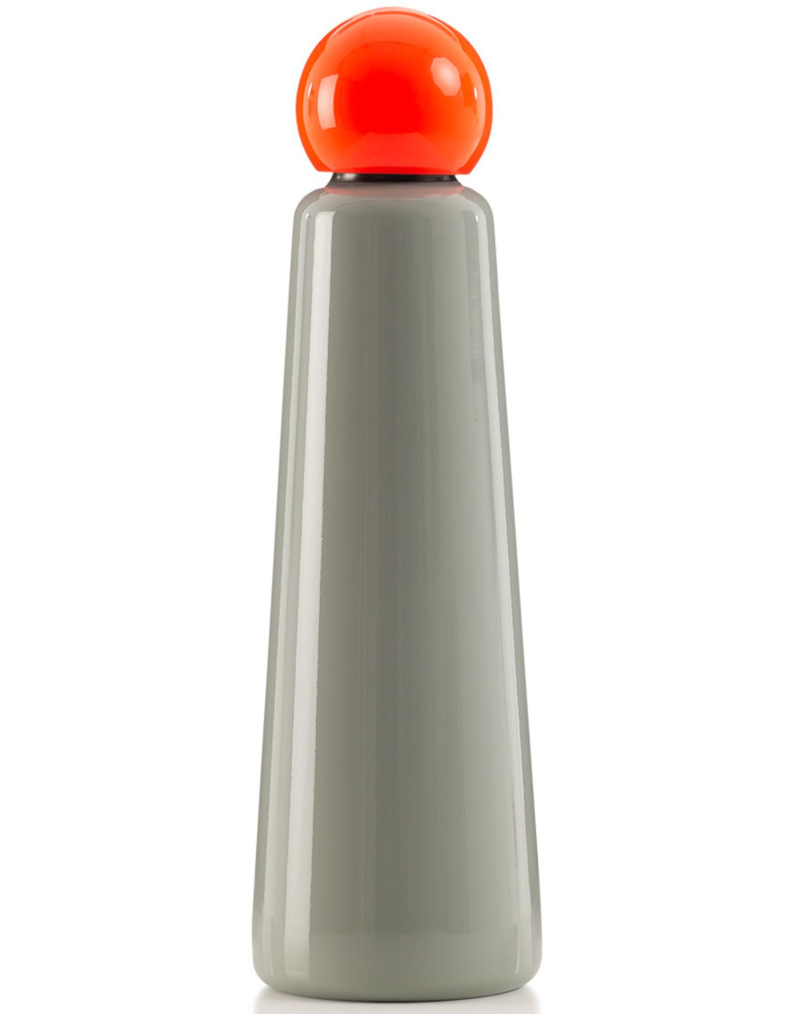 Lund London Skittle Bottle Jumbo 750 ml (Grey & Coral)