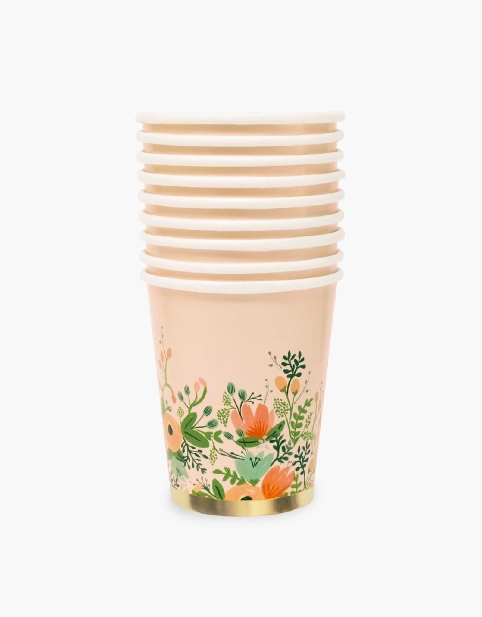 Rifle Paper Wildflower 8 oz Cups