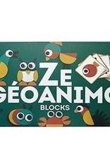 DJECO Animambo Construction Blocks - Ze Geoanimo