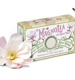 Sweet Olive Soap Works Magnolia and Goat Milk Soap