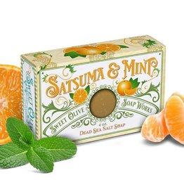 Sweet Olive Soap Works Satsuma & Mint Bar Soap