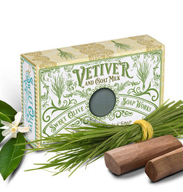 Sweet Olive Soap Works Vetiver & Goat Milk Soap