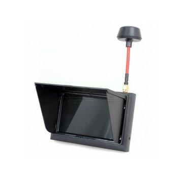 FXT Technology F408 Black screen 5.8G Raceband receiver Monitor