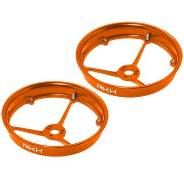 Rakon CNC AL Propeller Guard (Orange) - Blade Inductrix 200