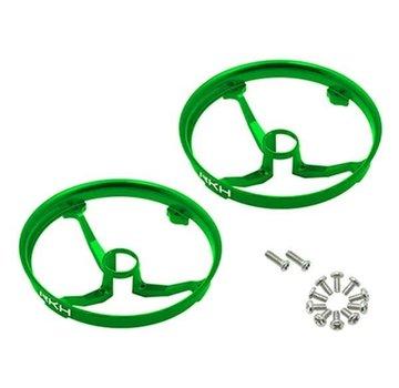 Rakon CNC AL Propeller Guards (Green) - Blade Inductrix 31mm