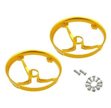 Rakon CNC AL Propeller Guards (Gold) - Blade Inductrix