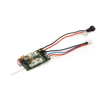 E-Flite DSM2 6 Ch Ultra Micro AS3X Receiver BL-ESC EFLU4864