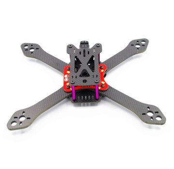 Martian III X 220mm 4mm arms Carbon Fiber Frame Kit With Integrated PDB