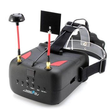 Eachine Eachine VR D2 5 Inches 800*480 40CH Raceband 5.8G Diversity FPV Goggles with DVR Lens Adjustable
