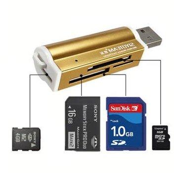 USB 2.0 Card Reader 32 in 1