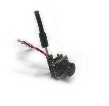 Mini Camera VTX combo 5.8GHz 48CH 25mW with whip antenna