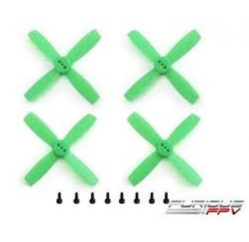 FURIOUS FPV Furious FPV Propellers High Performance-Neon Green-1935-4-Blade