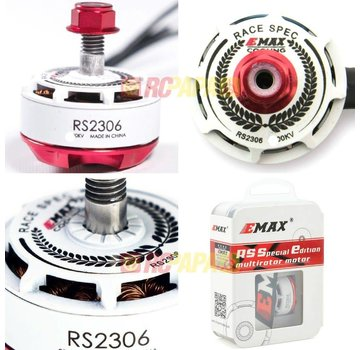 Emax EMAX RS2306 RACING SERIES BRUSHLESS MOTOR (WHITE)  2750KV