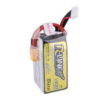 Tattu Tattu R-Line 1300mAh 95C 6S1P lipo battery pack with XT60 Plug