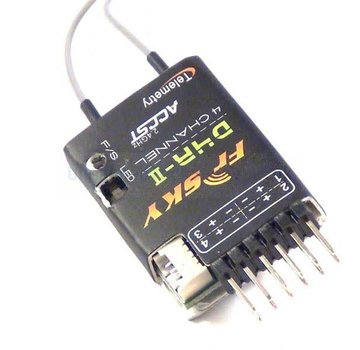Frsky FrSky D4R-II - 4/8 Channel Receiver With 27ms CPPM