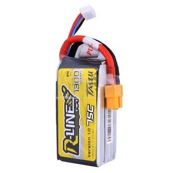 Tattu Tattu R-Line 1300mAh 75C 3S1P lipo battery pack with XT60 Plug