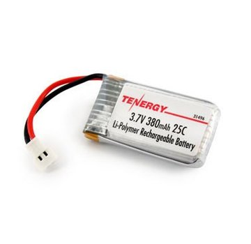 Tenergy Tenergy 3.7V 380mAh LiPO Battery for Hubsan X4 (H107C H107D H107L) Syma X11 X11C TDR Spider Eac