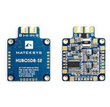 Matek Matek Systems HUBOSD8-SE 9-27V PDB W/ STOSD8-SE 5V&10V Dual BEC
