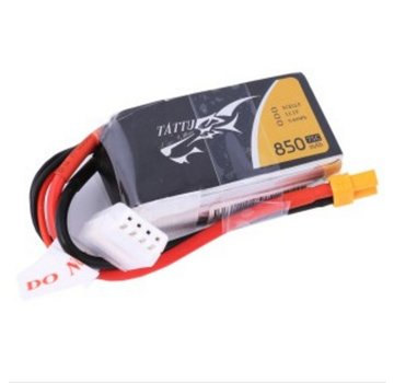 Tattu Tattu 850mAh 11.1V 45C 3S1P Lipo Battery Pack with XT30 plug