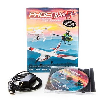Spektrum Phoenix R/C SIM V5.5 with Spectrum DX6i