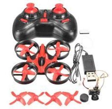 Eachine Eachine E010C Micro FPV Raicng Quadcopter With 800TVL 40CH 25MW CMO Camera 45C Battery Red