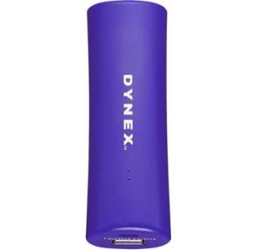 Dynex - 2000 mAh Portable Charger-Purple