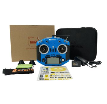 Frsky FrSky Taranis Q X7S Radio w/ Upgraded M7 Hall Sensor Gimbals (Blue)